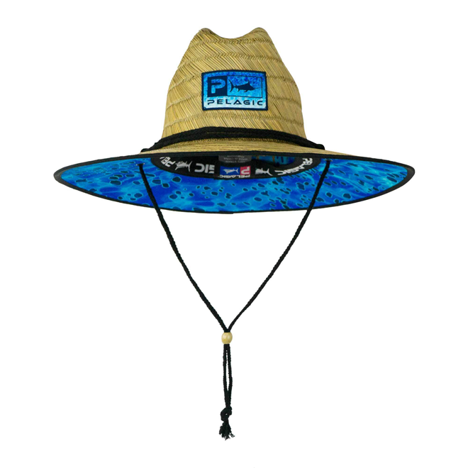 Sombrero BAJA STRAW BLUE Dorado (Pelagic)